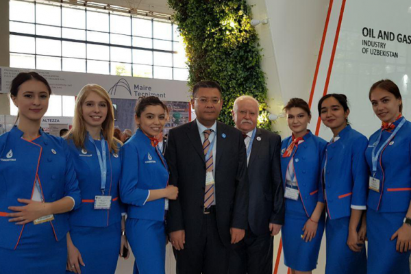 "Tashkent branch of Gubkin University at the 23rd International Conference ""Oil and Gas of Uzbekistan 2019"""