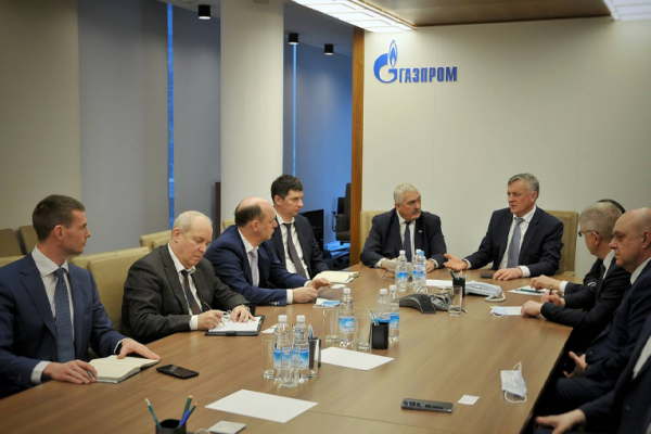 Rector of Gubkin University and Director General of Gazprom Mezhregiongaz discussed the issues of cooperation
