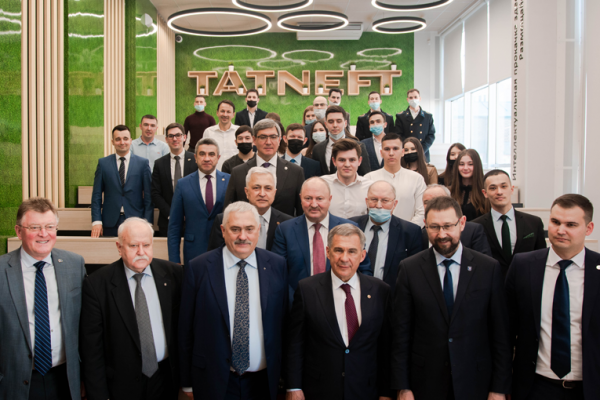 The President of the Republic of Tatarstan visited Gubkin University