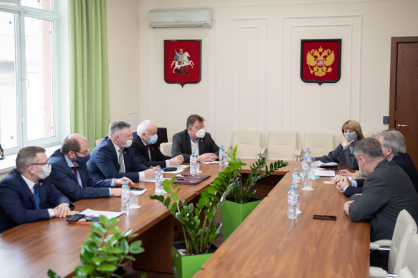 Gubkin University and Omsk universities signed a cooperation agreement