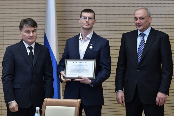 Gubkin University scientist was awarded the medal of the Russian Academy of Education